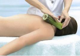 massaggi bambù